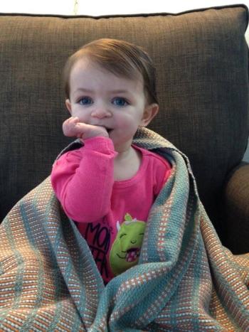 Custom Woven Baby Blanket